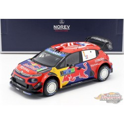 Citroen C3 WRC 1 Winner Rallye of Mexico 2019 Ogier - Ingrassia - Norev 1-18 - 181646 -  Passion diecast