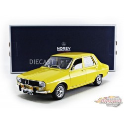1973 Renault 12 TS  Yellow - 1/18  Norev  - 185212 - Passion Diecast