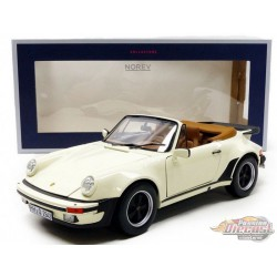 1987 Porsche 911 Turbo Cabriolet Ivoire - 1/18  Norev  - 187661  - Passion Diecast