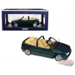 1995 Volkswagen Golf Cabriolet Green - 1/18  Norev -188431 - Passion diecast