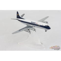 BOAC Vickers Viscount 700 - Herpa 1/200 - HE570817  Passion Diecast