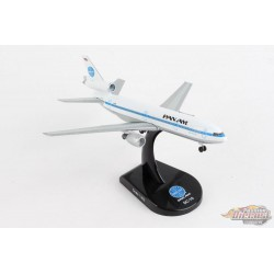 """McDonnell Douglas DC-10 Pan Am N61NA """"Clipper Evening Star"""" - 1/400 - Postage Stamp PS5820-5 Passion Diecast"""