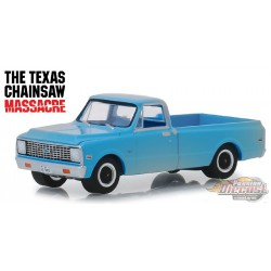 1971 Chevrolet C-10 - The Texas Chainsaw Massacre - Hollywood 22 - 1-64  greenlight - 44820 B  -  Passion Diecast