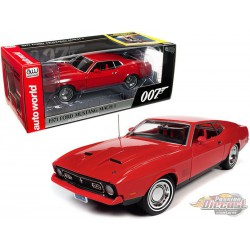 "1971 Ford Mustang Mach1 - James Bond ""Diamonds Are Forever""  - 1/18 Auto World  AWSS126 -  Passion Diecast"