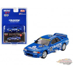 Nissan Skyline GT-R R32 n°12 Calsonic Japan Touring Car Championship 1993 -  MINI GT 1:64 - Mijo Exclusive - MGT00104