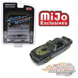 1977 Pontiac Trans Am Smokey and the Bandit Chrome Edition Greenlight 1/64  - Mijo Exclusives - 51223 - Passion Diecast