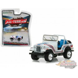 1976 Jeep CJ-5 Bicentennial Edition - All-Terrain Series 7  Greenlight 35110 C -  Passion diecast
