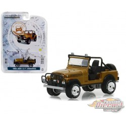 1982 Jeep CJ-7 30th Anniversaire Jamboree - Anniversary Collection Series 7  - Greenlight 1/64 -  27970 C Passion Diecast