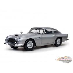 1963 Aston Martin DB5 Silver - Sunstar 1/18 - 1005  - Passion Diecast