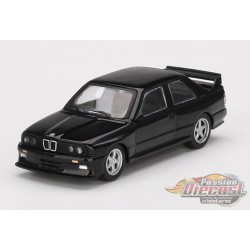 BMW M3 (E30) AC Schnitzer S3 Black  -  MINI GT 1:64 - Mijo Exclusive - MGT00119  - Passion Diecast