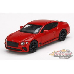 Bentley Continental GT St. James Red -  MINI GT 1:64 - Mijo Exclusive - MGT00216  - Passion Diecast