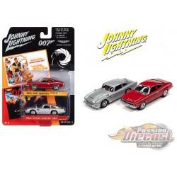 James Bond 007 1974 AMC Hornet  / Aston Martin DB5  - Set of 2 -  Johnny Lightning 1:64 - JLSP117  - Passion Diecast