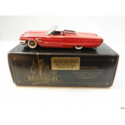 1965 Ford Thunderbird convertible - Brooklin 1/43 BRK.47