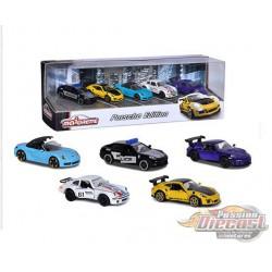 Porsche Giftpack 5-Car Assortment - Majorette 1:64 - 2120531711 - Passion Diecast