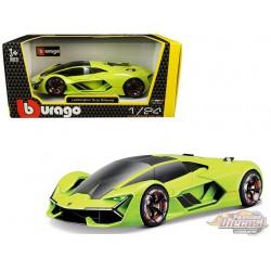 Lamborghini Terzo Millennio Lime Green - Bburago 1-24 -  21094 GRN - Passion Diecast
