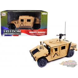 "HMMWV (Humvee) ""Military Police"" Desert Tan -  Autoworld -1-18 -  AWML003  - Passion Diecast"