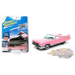 1959 Cadillac Eldorado Convertible, Pink   JOHNNY L IGHTNING 1:64  JLCP7045 Passion Diecast