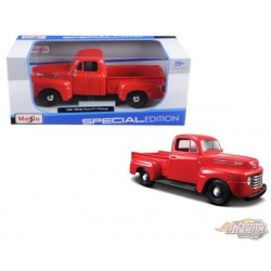 Ford F1 Pickup  1948 Red  - Maisto 1/24 - 31935 RD - Passion Diecast