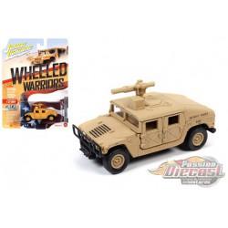 M1045 HMMWV Armament Carrier - Wheeled Warriors  - Johnny Lightning - 1:64 - JLCP7269 - Passion Diecast
