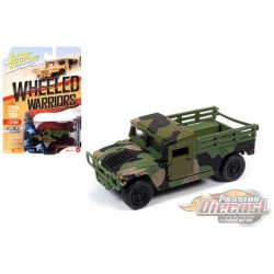 M1045 HMMWV Cargo-Troop Carrier - Wheeled Warriors  - Johnny Lightning - 1:64 - JLCP7270  - Passion Diecast