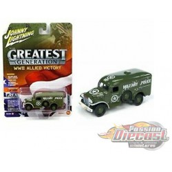 DODGE WC54 - Allied Victory - Wheeled Warriors  - Johnny Lightning - 1:64 - JLCP7066  - Passion Diecast