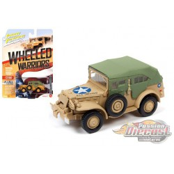 Dodge WC57 Command - Wheeled Warriors  - Johnny Lightning - 1:64 - JLCP7268 - Passion Diecast
