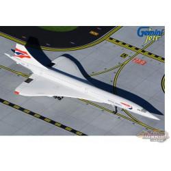 Passion Diecast Gemini Jets  1/400 GJBAW1667  British Airways  CONCORDE   REG# G-BOAF
