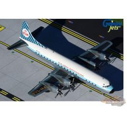 "LOCKHEED L-188 ELECTRA KLM - ROYAL DUTCH AIRLINES ""Saturnus"" PH-LLE / Gemini 200 - G2KLM848"