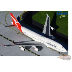 "QANTAS Boeing 747-400ER ""Longreach"" / VH-OEH ""Hervey Bay"" / Gemini 200 - G2QFA734 - Passion Diecast"