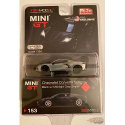 2020 Chevrolet Corvette C8 Stingray  - CHASE CAR RAW  MINI GT 1:64 - Mijo Exclusive - MGT00153GR