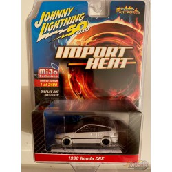 "1990 Honda CRX Red  ""Street Freaks"" ""Johnny Lightning 50th Anniversary'' 1:64 - JLCP7200"