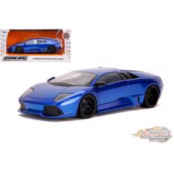 Lamborghini Murcielargo LP640 Blue - Hyper-Spec - Jada 1/24 - 32279  - Passion Diecast