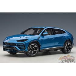 Lamborghini Urus - Blu Eleos -  Autoart 1/18 -  79162 - Passion Diecast