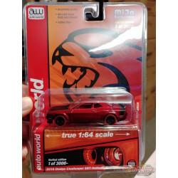 2019 Dodge Challenger HellCat - Orange  - CHASE CAR ULTRA RED Auto World 1:64 Premium - CP7721 GR
