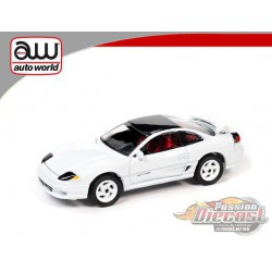 1992 Dodge Stealth T/T Twins Turbo  White  - Auto World 1:64  - AWSP063 A  -  Passion Diecast