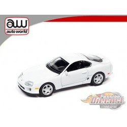 1993 Toyota Supra  White  - Auto World 1:64  - AWSP064 B -  Passion Diecast