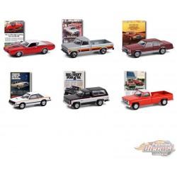 Vintage Ad Cars Series 4 Assortment  1-64 greenlight -  39060 - Passion Diecast