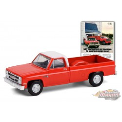 1984 GMC Sierra 2500 Why GMC Diesels Are Growing On -Vintage Ad Cars Series 4  - 1-64 Greenlight - 39060 F  - Passion Diecast
