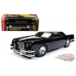 George Baris The Car - 1969 Lincoln Black - 1/18 Auto World  AWSS120 -  Passion Diecast