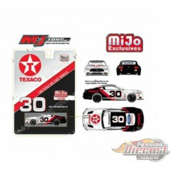 2017 Ford Mustang Texaco Racing White  -  Autoworld  MiJo Exclusive 1:64 - CP7438 -  Passion Diecast