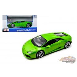 Lamborghini Huracan LP610-4 2015 Green - Maisto 1/24 - 31509 GR -  Passion Diecast