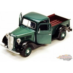 1937 Ford Pickup Green Motormax 1-24 - 73233 GR - Passion Diecast
