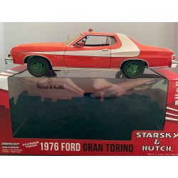 1976 Ford Gran Torino Starsky and Hutch Weathered Version  -  GREENMACHINE 1/24 , 84121GR