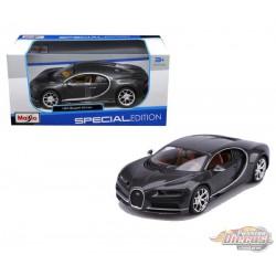 Bugatti Chiron Grey  - Maisto 1/24 - 31514 GRY -  Passion Diecast