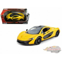 McLaren  P1 Yellow and Black  - Motormax 1-24 - 79325 YL - Passion diecast