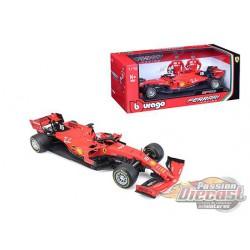 Ferrari Formula 1 F1 2019 n°16 Charles Leclerc -  Bburago 1/18 -  16807 CL - Passion Diecast