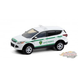 2013 Ford Escape - NYC Dep of Parks & Recreation - Hot Pursuit Series 37 -1-64 Greenlight - 42950 D - Passion Diecast
