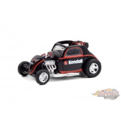 Topo Fuel Altered Dragster- Kendall Motor Oil -  Running on Empty 12 - 1-64 greenlight - 41120 F - Passion Diecast