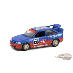 1995 Ford Escort RS Cosworth - STP -  Running on Empty 12 - 1-64 greenlight - 41120 E - Passion Diecast