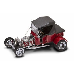 Ford 1923 T-Bucket Top - Burgundy  - 1/18 Road Signature - 92829 BUR - Passion Diecast